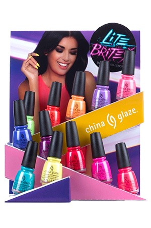 [China Glaze] Lite Brites (36pc in 12pc) -pc