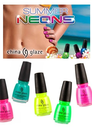 [China Glaze] SUMMER NEONS -pc
