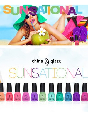 [China Glaze] Sunsational -pc