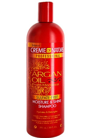 [Creme of Nature-box#63] ARGAN OIL FROM MOROCCO Moisture & Shine Shampoo 20oz