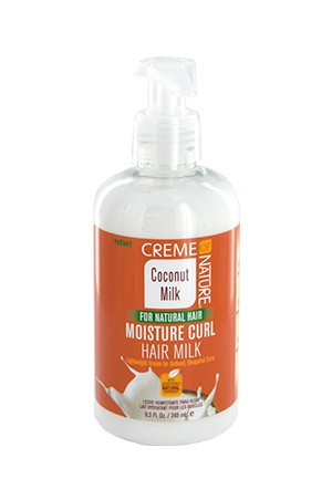 [Creme of Nature-box#102] Coconut Milk Moistr Curl Hair Milk (8.3oz)