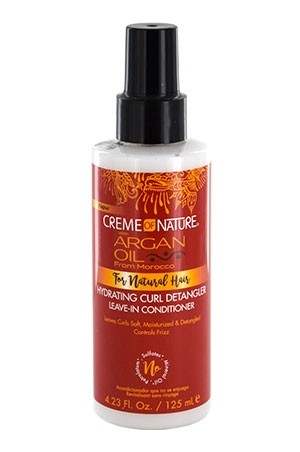 [Creme of Nature-box#108] Argan Oil Curl Detangler Leave-In Conditioner (4.23 oz)