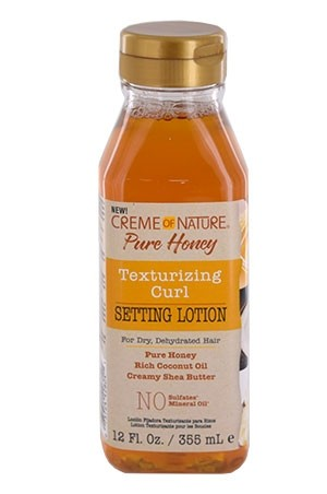 [Creme of Nature-box#112] Pure Honey Setting Lotion (12 oz)