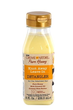 [Creme of Nature-box#113] Pure Honey knot Away Leave-In Detangler (8 oz)
