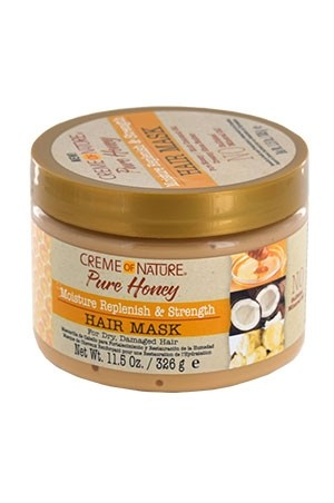 [Creme of Nature-box#116] Pure Honey Hair Mask (11.5 oz)