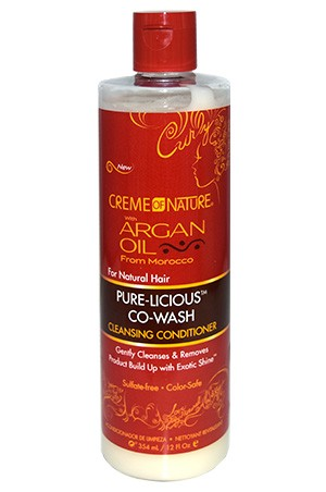 [Creme of Nature-box#91] Argan Oil Purelicious Co-Wash(12oz)