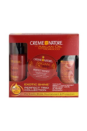 [Creme of Nature-box#99] Argan Oil Trio Perfect Collection