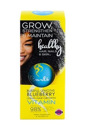 [Curls-box#15] Blueberry Blissful Length Liquid Growth Vitamin (8 oz)