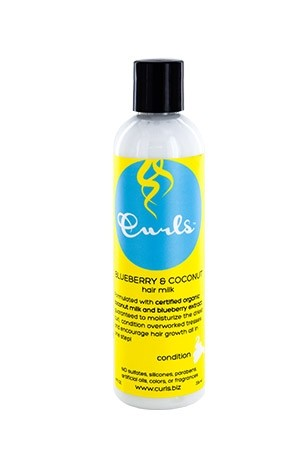 [Curls-box#17] Blueberry & Coconut Hair Milk (8 oz)