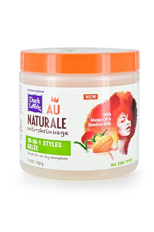 [Dark & Lovely-box#25] Au Naturale 10-In-1 Styles Gelee (5.3oz)