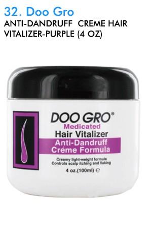 [DooGro-box#32] Anti-Dandruff  Creme Hair Vitalizer-Purple (4 oz)