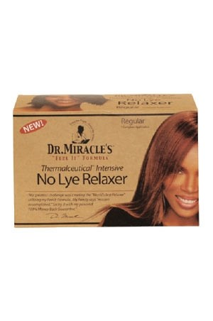 [Dr.Miracle's-box#5] No Lye Relaxer(Regular)