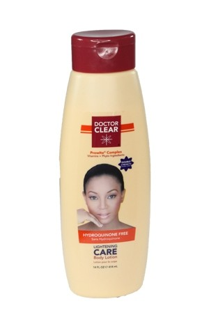 [Dr. Clear-box#4] Lightening Care Body Lotion-Double Strength (14oz)