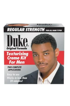 [Duke-box#15] Original Formula Texturizing Cream Kit for men -Regular 2 Complete Applications