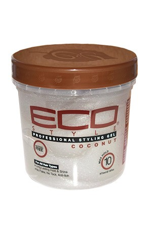 [Eco Styler-box#79] Styling Cream Gel-Coconut(16oz)