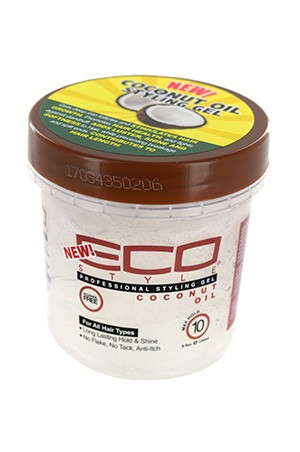 [Eco Styler-box#80] Styling Cream Gel-Coconut(8oz)