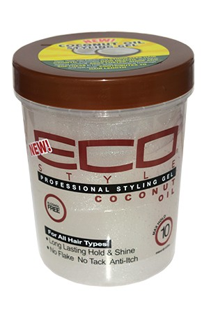 [Eco Styler-box#83] Styling Cream Gel-Coconut (32oz)