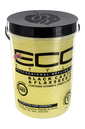 [Eco Styler-box#90] Black Castor & Flaxseed Oil Gel (5lbs)