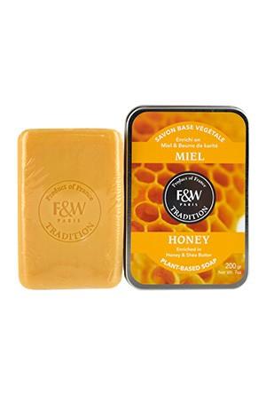 [Fair & White-box#63] Tradition-Honey Soap (200g)
