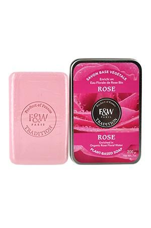[Fair & White-box#65] Tradition-Rose Soap (200g)