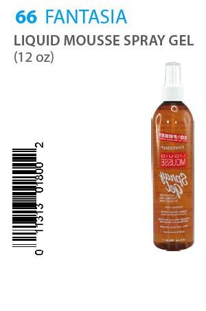 [Fantasia-box#66] IC Liquid Mousse Spray Gel 12oz
