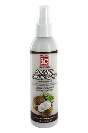 [Fantasia-box#104] IC Coconut Curling Cream (6oz)