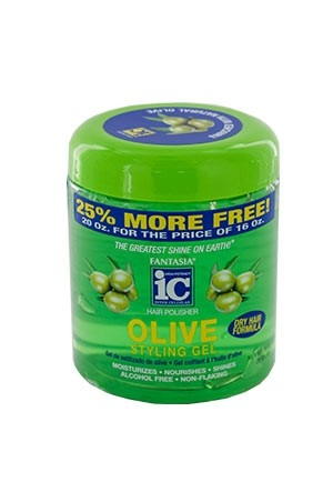 [Fantasia-box#51B] IC Oilve Styling Gel (16 oz)