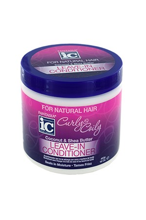 [Fantasia-box#99] IC Curly & Coily Leave-In Conditioner (16oz)