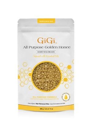 [GiGi-box#39]  All Purpose Golden Honee Hard Wax Beads(14 oz/396 g)-pk