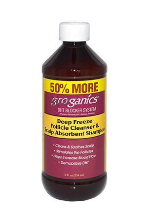 [Groganic's-box#1B] Deep Freeze Follicle Cleanser & Shampoo (12oz)