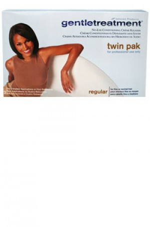 [Gentle Treatment-box#1] No-Lye Relaxer [Twin Pak] - Regular- for professional use