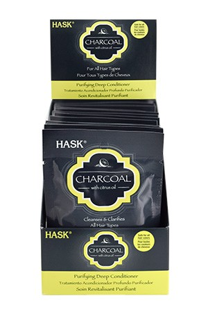 [Hask-box#60] Charcoal Purifying Deep Conditioner [1.75 oz/12 pk/ds]
