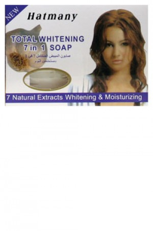 [Hatmany-box#6] Total Whitening 7 in 1 Soap - 7 Natural Extracts Whitening & Moisturizing (120 g)