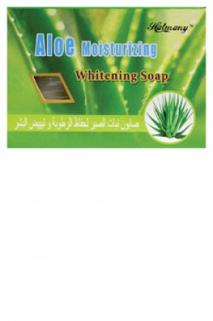 [Hatmany-box#10] Aloe Moisturizing Whitening Soap (130 g)