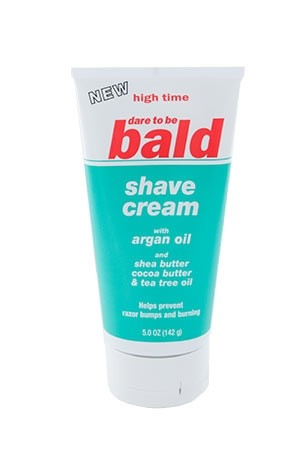 [High Time-box#18] Dare To Be Bald Shave Cream w/Argan Oil (5 oz)