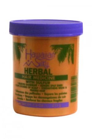 [Hawaiian Silky-box#33] Herbal Hair Medicine w/ Sulfur (7.5oz)
