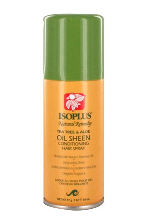 [Isoplus-box#53A] Natural Remedy TeaTree&Aloe Sheen Hair Spray(2oz)
