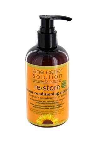 [Jane Carter Solution-box#19] Restore Creamy Cond Cleanser (8oz)