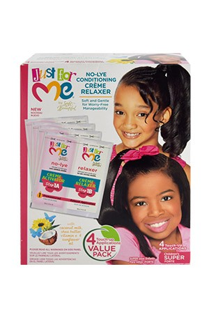 [Just for Me-box#25] No-Lye Relaxer Kit 4Touch-Up App (Super)
