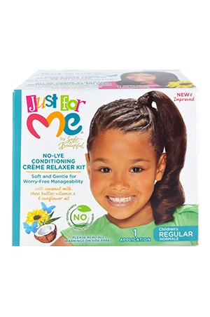 [Just for Me-box#8] No-Lye Conditioning Relaxer - Regular