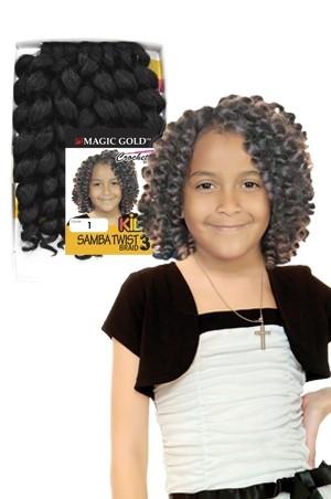 """Kids Samba Twist Braid#3 8"""""""