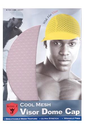 [King.J #251] Cool Mesh Visor Dome Cap -pc