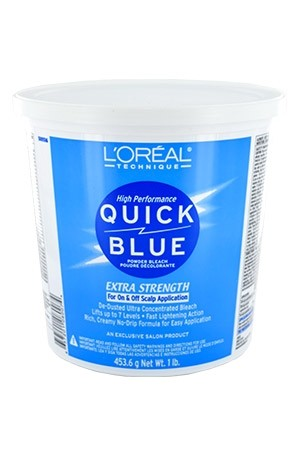 [LOREAL-box#1] Quick Blue [Powder Bleach] (16 oz/1 lbs)