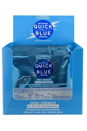 [LOREAL-box#2]Quick Blue [Powder Bleach] Packette (1 oz/12 pc/ds)