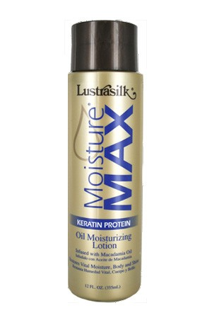 [Lustrasilk-box#47] Moisture Max Oil Moisturizing Lotion (12oz)