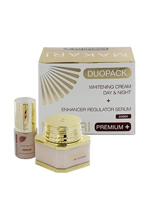 [Makari-box#55] Duopack Whitening bream (3.38 oz) + Serum(1.1 oz)