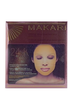[Makari-box#65] Extreme 24K or Rose Face Mask (5x0.88 oz)