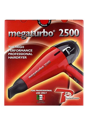[MEGA TURBO] Turbo Power Hair Dryer -Mega Turbo 2500 #311A -pc