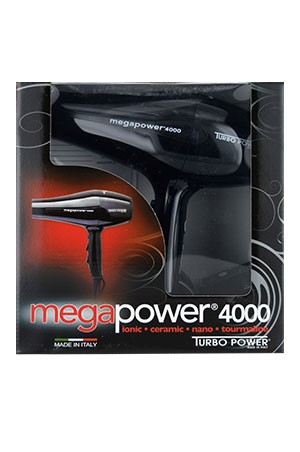 [MEGA TURBO] Turbo Power Hair Dryer -Mega Turbo 4000 #326 -pc