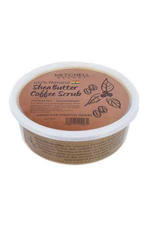 [Mitchell-box#7] Shea Butter Coffee Scrub (8oz) -jar